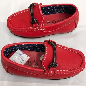 79a1e736196 tony Shoes - Boys loafers red size 4 toddler